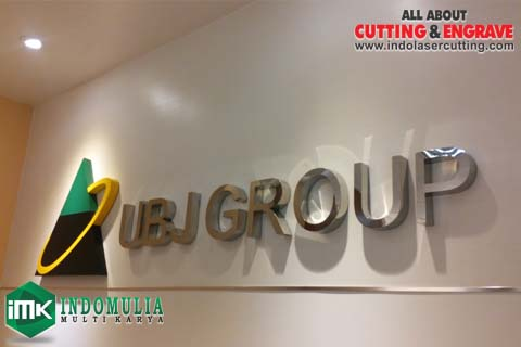 huruf timbul stainless ubj group